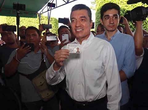 Gobernador Electo de Chiapas, Rutilio Escandón Cadenas