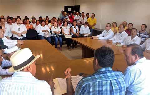 Productores de Soya Cuentan con Respaldo del Gobierno Estatal: Culebro Velasco