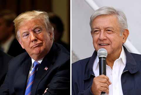 Trump Recibió la Carta de AMLO y Espera Trabajar Juntos