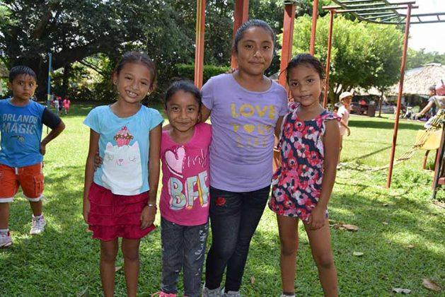 Hannia Ramírez, Yamileth Ramírez, Yeremi Ramírez, Lirio Aguilar.