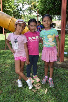 Ximena García, Abigail De Los Santos, Luisa López.