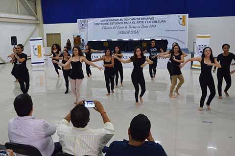 Clausuran con Éxito el Curso de Verano en Danza UNACH-INBA 2018