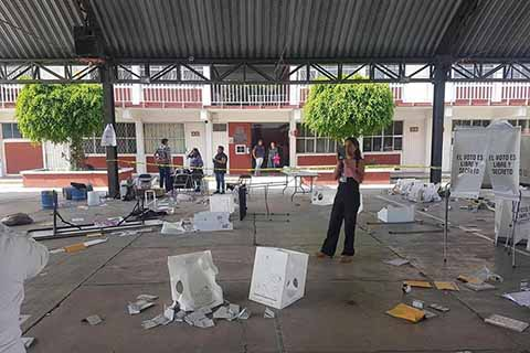 Reportan Mil 364 Denuncias Electorales y 19 Detenidos