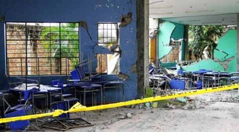 Sin Avances la Reconstrucción de Aulas Afectadas por Terremoto
