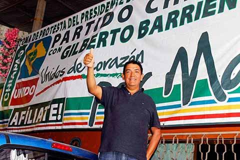 Gilberto Barrientos Coyotzi Teme un Fraude en su Contra