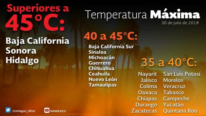 Se Prevén Tormentas muy Fuertes en Sonora, Veracruz, Tabasco y Chiapas