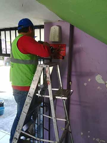 Instalan Sistemas de Alertas Sísmicas en Cacahoatán