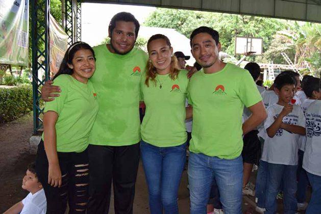 Andrea Hernández, Luis Zwanziger, Paulina Paulin, Euides Martínez.