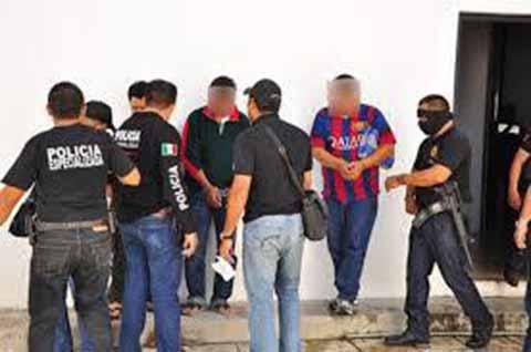 """Suman 48 Detenidos, Integrantes del """"Cartel de Jalisco Nueva Generación"""""""