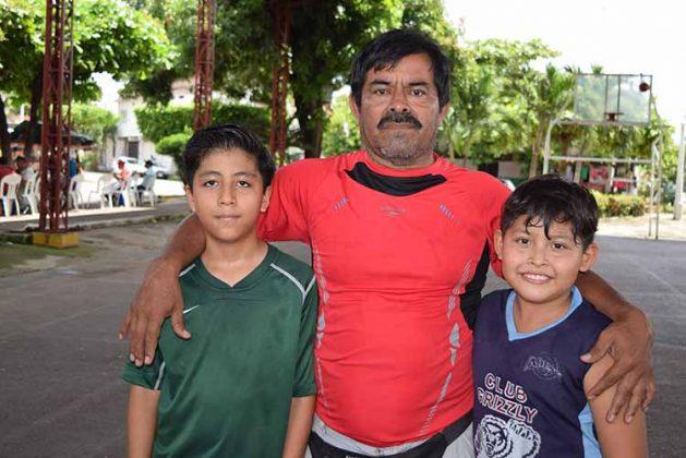 Sebastián Gutiérrez, Felipe Nicolas, Marco Anaya.