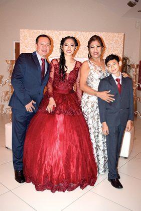 Carlos Daniel Rodríguez, Karla Pamela Rodríguez, Dalia Camilo de Rodriguez, Alexander Daniel Rodríguez.