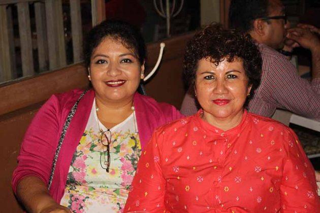 Alejandra Hernández, Rosa Talarico.