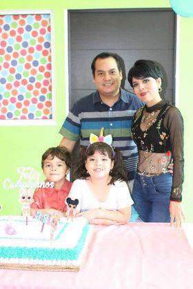 Familia Ruiz Fuentes.