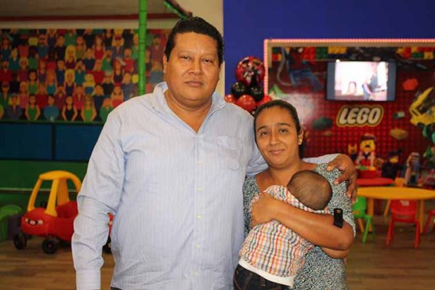 Familia Arrevillaga Mayer.