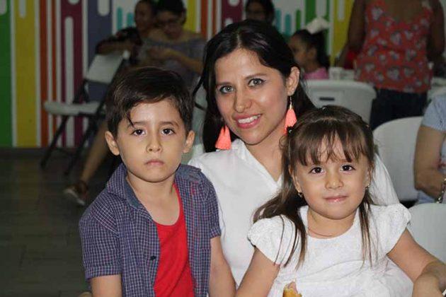Alex Márquez, Anna Karen, Danna Sophia.