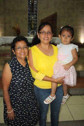 Berzaida Gutiérrez, Alejandra Cortés, Alessandra López.