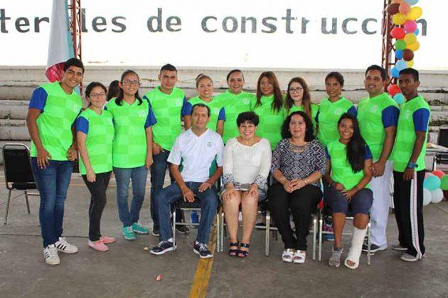 Instructores del Curso Vacacional Recreativo 2018.