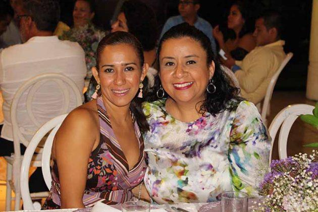 Elda Luna, Martha Ramírez.