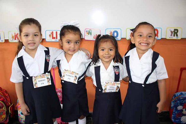 Mariale Aguilar, Elizabeth Ancheyta, Karla Aybar, Shirley Bamaca.