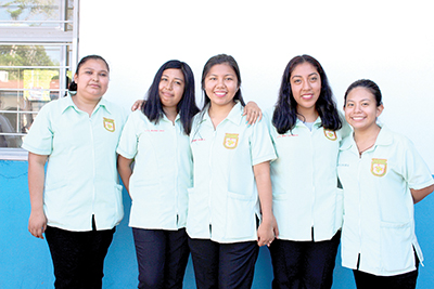 Yamilet Vázquez, Irania Cruz, Fernanda Ancheyta, Heidi Esteban, Lupita Dávila.