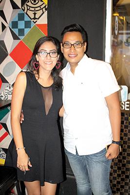 Silvia Córdova, Jared Ruiz.