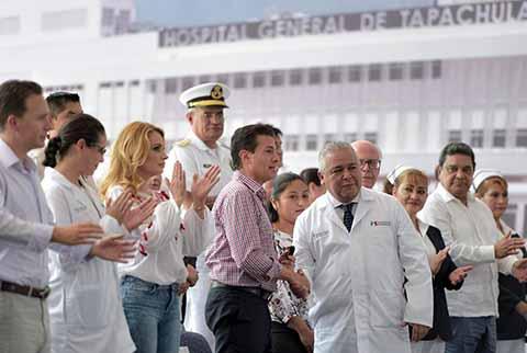Esaú Guzmán Será el Director del Nuevo Hospital de Tapachula