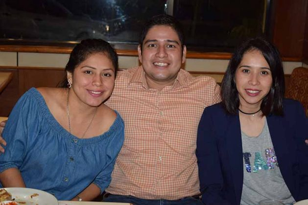 Andrea Torres, Samuel Espinosa, Paulina González.