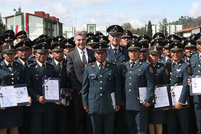 México Requiere de Fuerzas Armadas Fortalecidas: General Cienfuegos