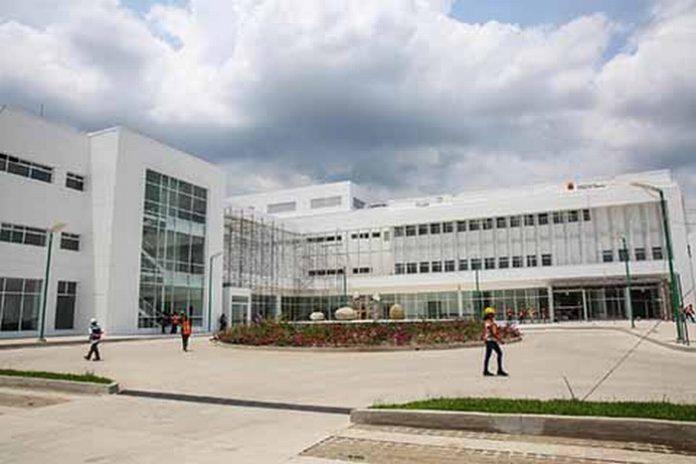 Estas son las nuevas y modernas instalaciones del Hospital Regional, que hoy será inaugurado para beneficio de los tapachultecos y habitantes de los municipios aledaños.