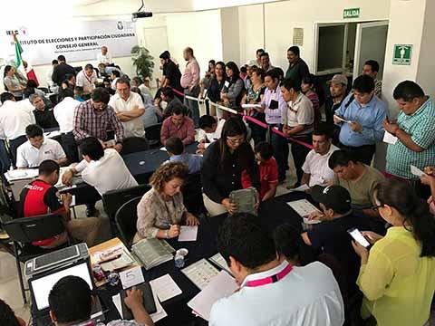 Realiza IEPC Nuevo Escrutinio y Cómputo de la Votación Parcial