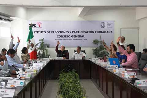 Sanciona IEPC Incumplimiento de Cuota de Jóvenes en Candidaturas
