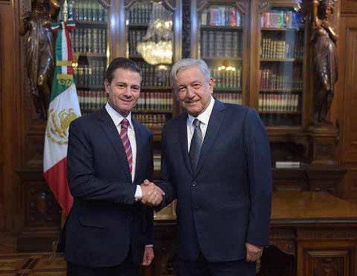 El presidente electo destacó que el encuentro con Peña Nieto, el segundo desde su triunfo electoral del 1 de julio, se desarrolló en