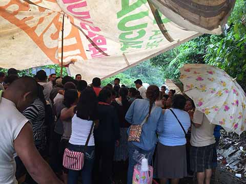Levantaron Bloqueo Carretero en Santo Domingo