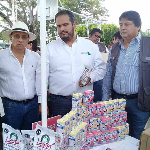 Amplían a 73 Municipios en Chiapas Beneficio de Leche de a Peso el Litro