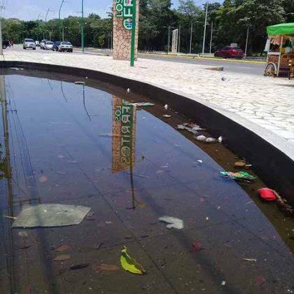 El gobernador Velasco ordenó la moderna remodelación del complejo deportivo, pero el cuidado y mantenimiento correría a cargo de Administración Municipal; sin embargo el Ayuntamiento que preside Neftalí del Toro se desobligó, permitiendo el deterioro de las instalaciones.