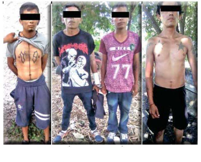 Con la participación de las policías federales y de las fuerzas militares, se realizó un operativo interinstitucional antipandillas, permitiendo la detención de 13 personas relacionadas con la Mara Salvatrucha 13 y Barrio 18, asegurando también droga y a presuntos homicidas.