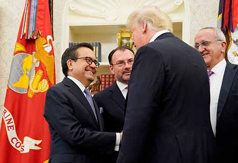 El TLCAN Ahora se Llama Tratado Comercial México-EU