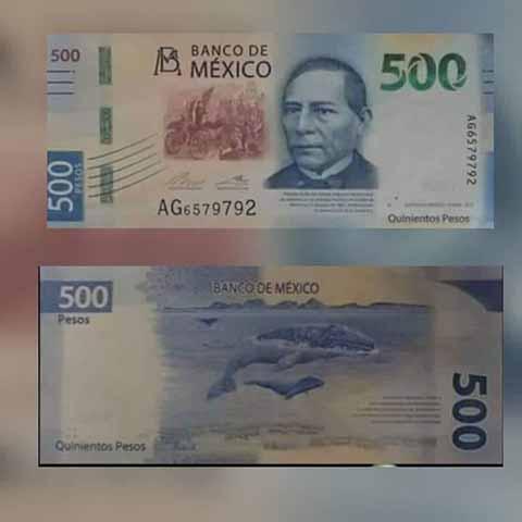 Banxico Presentará Nuevo Billete de 500 Pesos