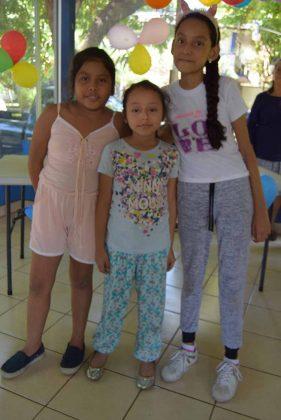 Aylin Fernanda Martínez, Brisa Robles, María José Méndez.