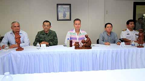 El mandatario estatal encabezó la Mesa de Coordinación de Seguridad, donde se acordaron mayores operativos de vigilancia en todas las regiones; para que Chiapas siga siendo una de las entidades más seguras del país.