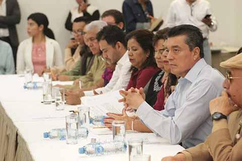 Sostiene REC Encuentro con Sectores Sociales