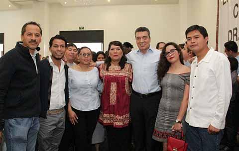 Rutilio Escandón Sostiene Reunión con Integrantes del Cabildo Electo de SCLC