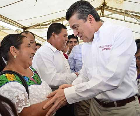 Con Reconciliación, Habrá Paz Social y Progreso en Chiapas: Rutilio Escandón