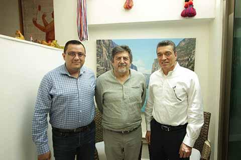 """Rutilio Escandón y Rogelio Jiménez Inician Análisis del """"Tren Maya"""""""