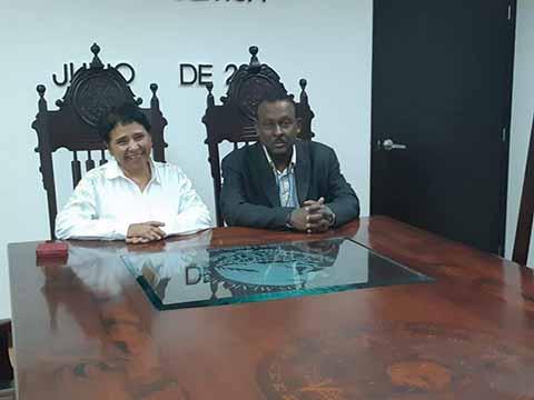 Reconoce Embajada de Haití Apoyo Educativo de Chiapas