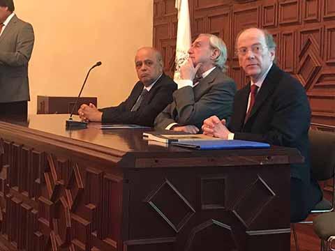 Expone Rector de la UNACH Legado del Doctor Manuel Velasco Suárez en la Bioética