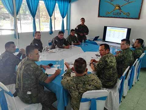 Militares de México y Guatemala Realizan Operaciones Conjuntas