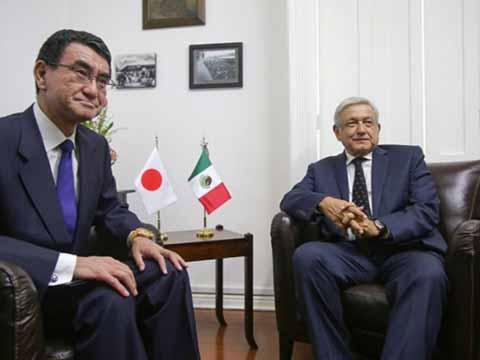 AMLO Acuerda Inversión Automotriz y Mayor Intercambio Comercial con Japón