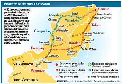 Proponen Ampliar Proyecto del Tren Turístico Hasta Tapachula