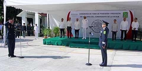 Gobierno Chiapas da Bienvenida a Comandante de VII Región Militar